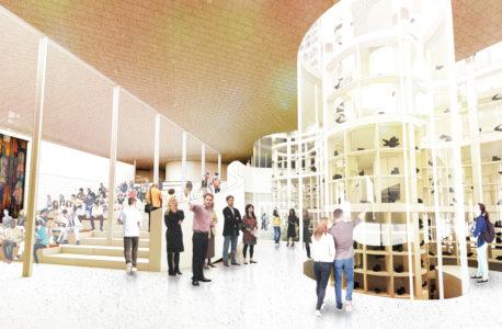Visible Vault, Inuit Art Centre. Michael Maltzan Architecture.