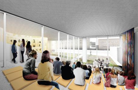 Learning Steps, Qaumajuq. Michael Maltzan Architecture.