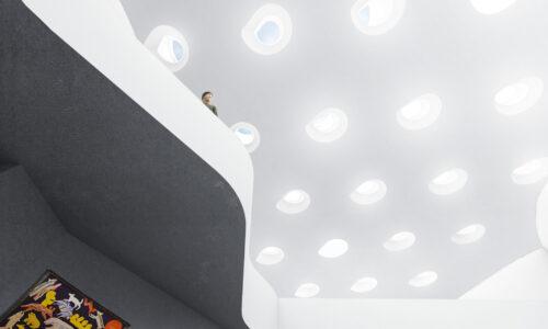 Qilak Inuit Gallery Ceiling Rendering Michael Maltzan Architecture